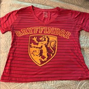 Harry Potter Gryffindor Short Sleeve Tee XL